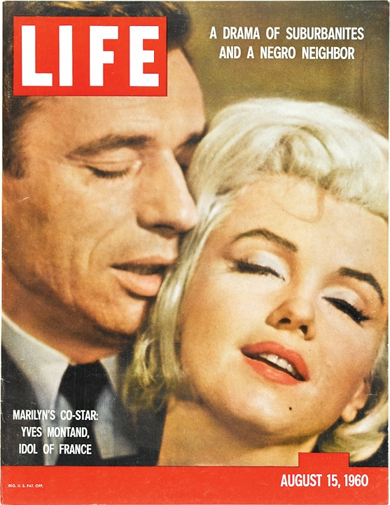 August 15, 1960: Marilyn's Co-Star: Yves Montand, Idol of FranceLife Covers, Magazine Covers, Marilyn Monroe, Auguste 15, Life Magazines, Marilynmonroe, Magazines Covers, 1960, John Bryson