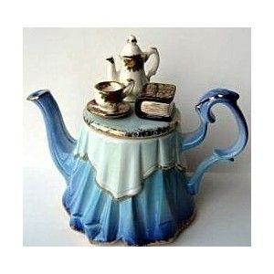 Quirky Royal Albert Collector Teapot!