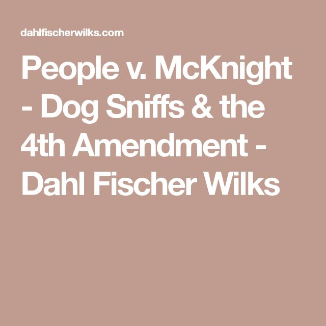 the best th amendment ideas amendment  mcknight dog sniffs the 4th amendment dahl fischer wilks