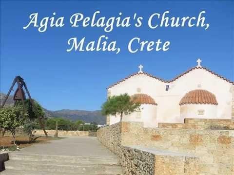 Greece, Crete, Malia part 8: Agia Pelagia's Church