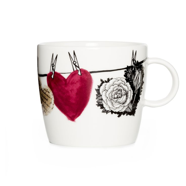 Hehku Muru mug by Lauri Tähkä Heartdesign