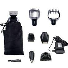 5 em 1 Kemei Máquina de Cortar Cabelo Elétrica Aparador de Cabelo Profissional Barba Barbeador À Prova D' Água Para Os Homens À Prova D' Água Da Família Haircut Ferramenta #55 alishoppbrasil