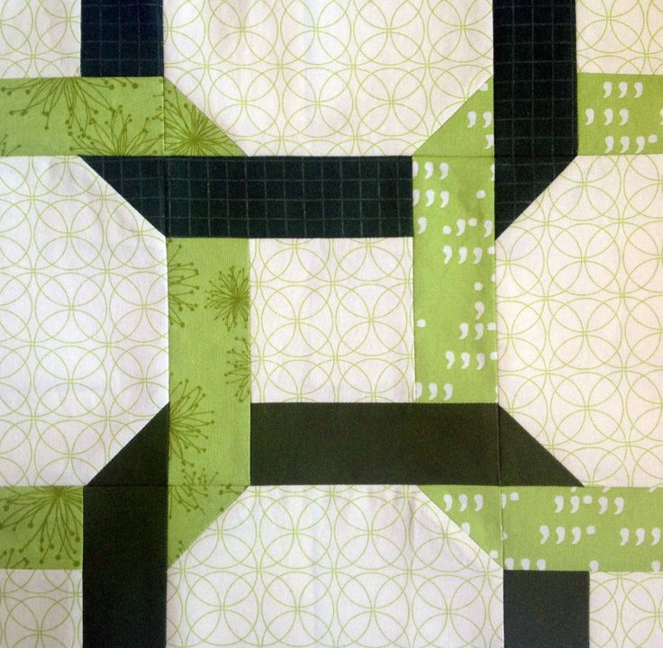 Celtic Twist Quilt Block and a March Snow - Starwood Quilter