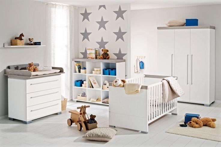 Paidi Kira Elegantes Babyzimmerdesign Mit Klaren Linien In Kreideweiss Ei Babyzimmer Mobel Babyzimmer Kinder Zimmer