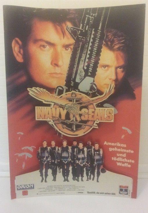 NAVY SEALS 1990 Standee Standup Display Limited http://www.ebay.de/itm/-/273017883849?roken=cUgayN via @eBayDE