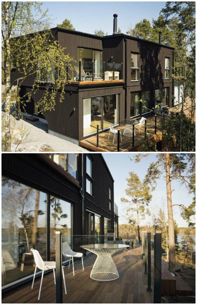 maison bois moderne exterieur - Maison En Bois Moderne