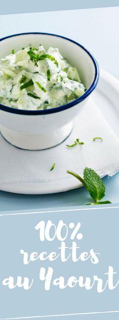 Découvrir les 27 recettes à base de yaourt