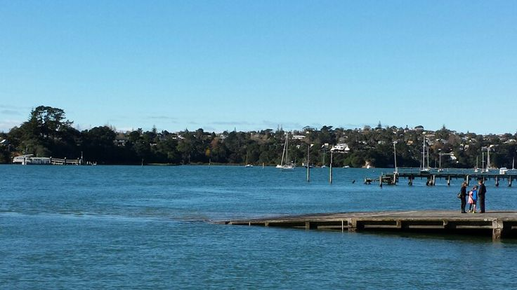 Old wharf at Hobsonville Point