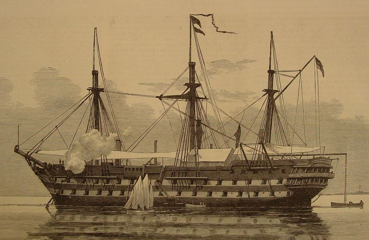 HMS London (1840), was a two-decker 90-gun second rate ship of the line of the…