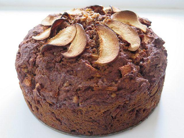 Madame Labriski - : Le Foulopomme et son glaçageski! (cake pommes-caramel