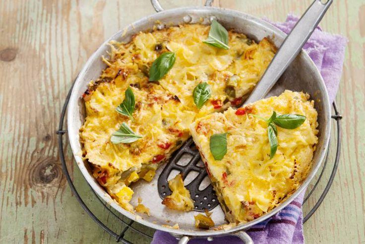 Recept Frittata.