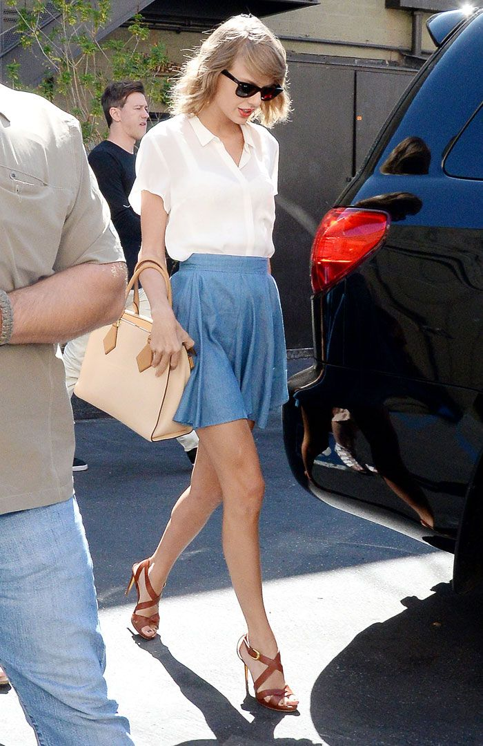 Taylor Swift on samastuttava katutyyli-idoli