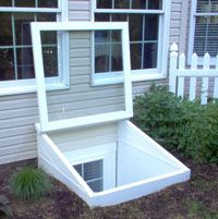 Redi-Exit one piece designer series egress window wells are constructed for maximum strength and designed in sandstone color that looks like natural brick stone.