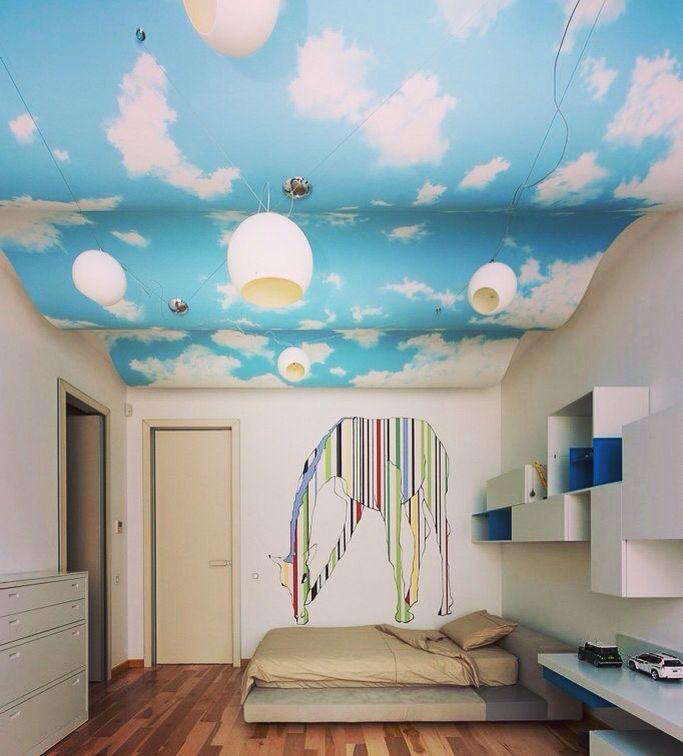 очередном фотообои на потолок небо с облаками вам мои