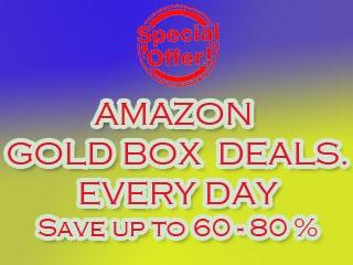 Amazon Gold Box Deals