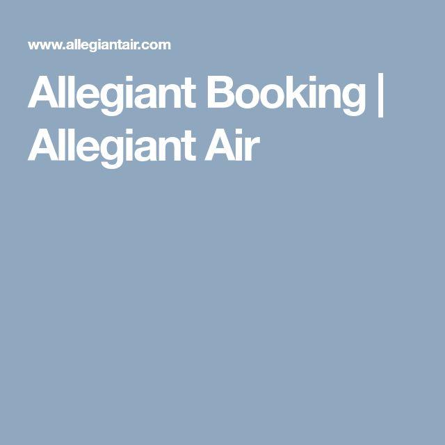Allegiant Booking | Allegiant Air