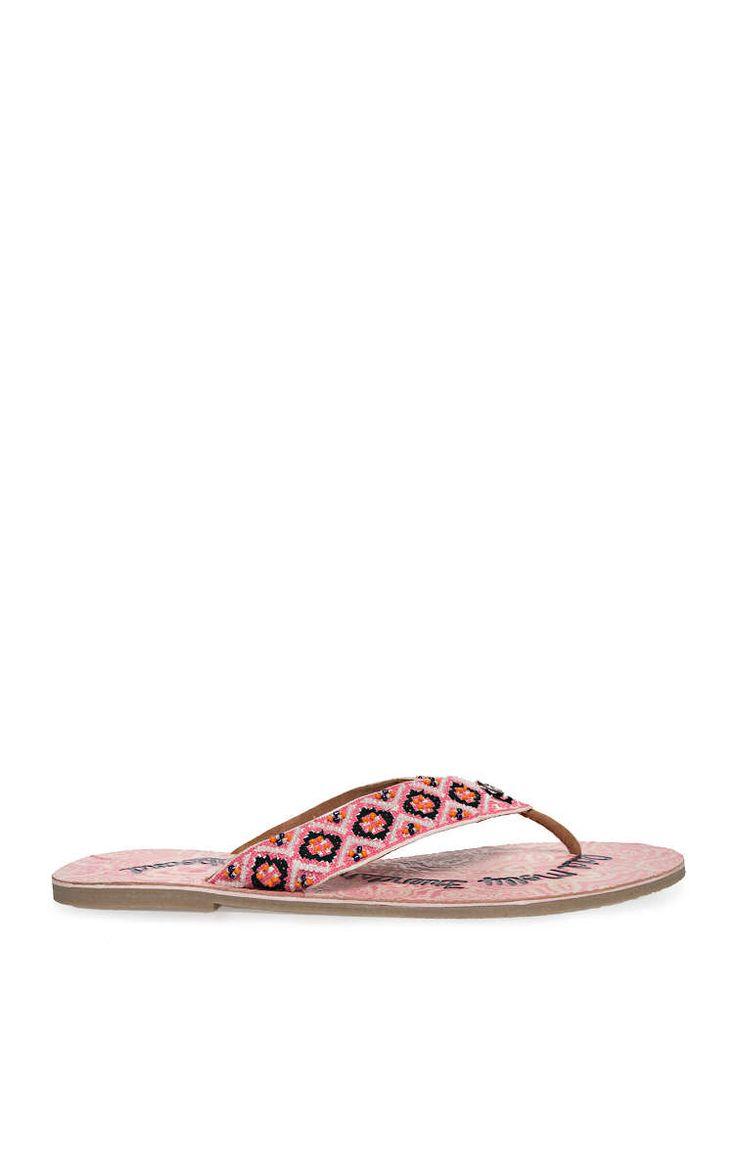 Flip Flop Toe Tem STRONG PINK - Odd Molly - Designers - Raglady