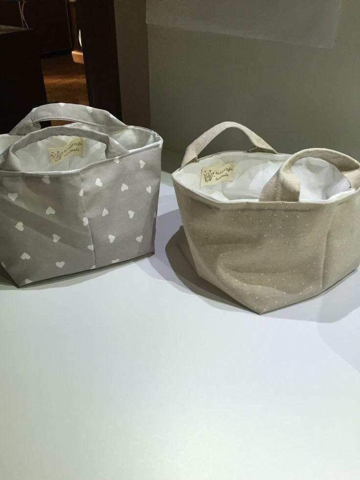Cestini cotone Lino