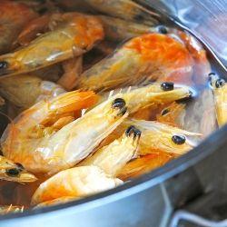 Caldo de Camaron Seco.  An unbelievable soup made from Mexican dried shrimp and Guajillo chiles