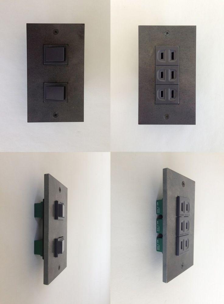 アイアンスイッチ アイアンコンセント | アトリエFUDO 一級建築士事務所