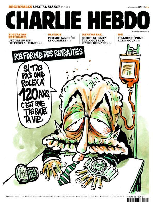 Charlie Hebdo - # 922 - 17 Février 2010 - Couverture : Luz