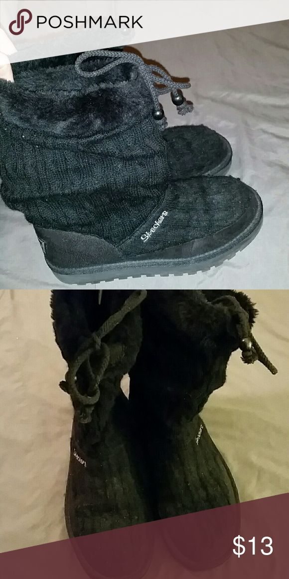 Boots Mid calf sketchers boots Skechers Shoes Winter & Rain Boots