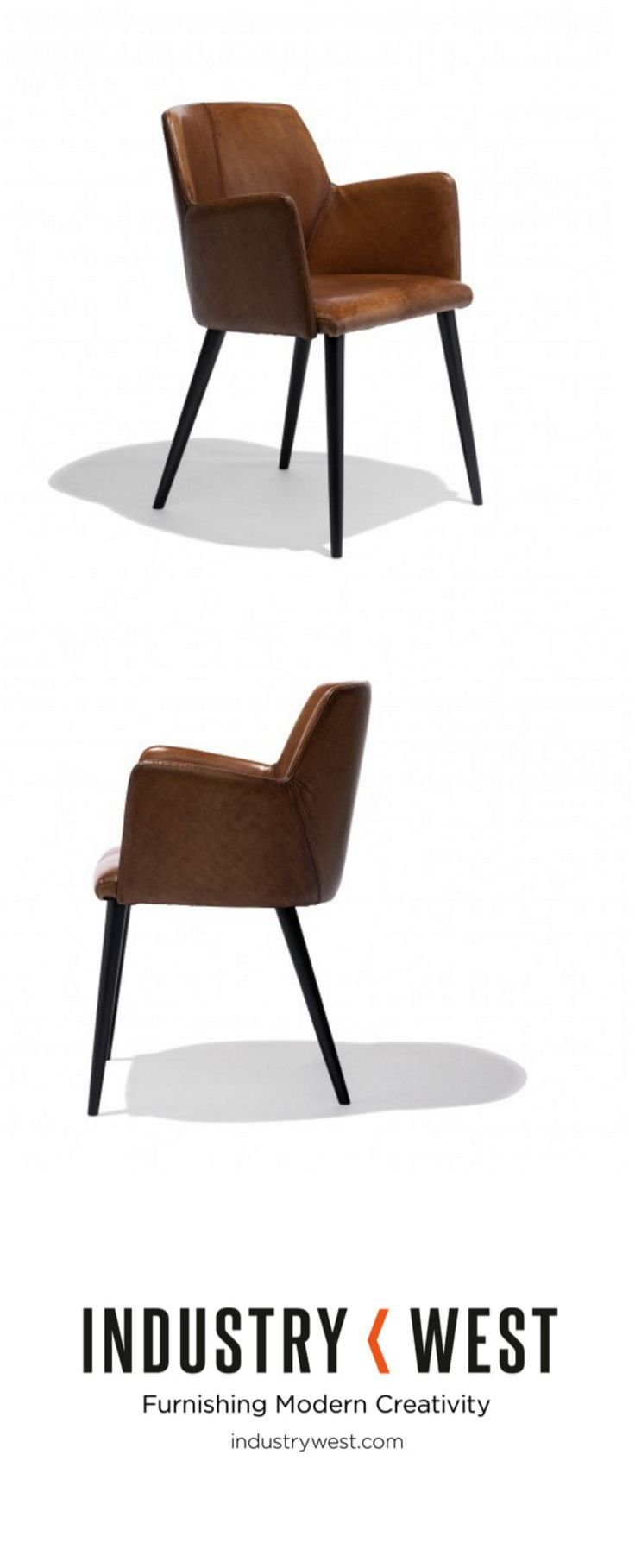 The Porter Chair Is Crafted From Exquisite, Genuine, Buffalo Leather. The  Buffalo Leather