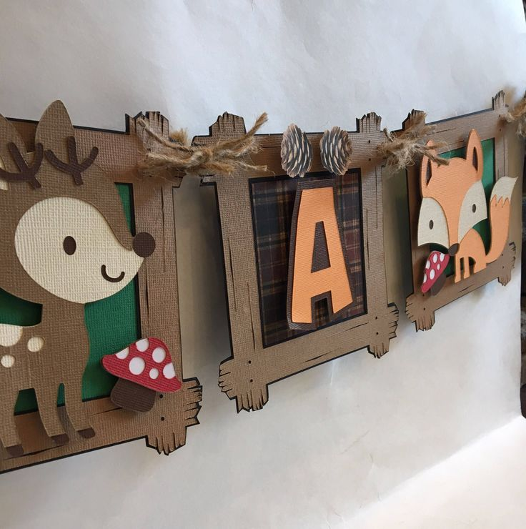 Fox baby shower decorations banner, fox baby shower banner ideas, fox woodland baby shower banner, fox baby deer shower theme banner, party by PerfectPartyProject on Etsy https://www.etsy.com/listing/531851625/fox-baby-shower-decorations-banner-fox