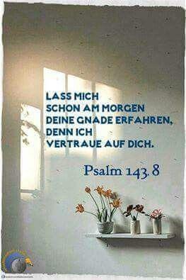 Psalm 143, 8