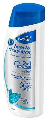 Head N Shoulders Head & Shoulders Instant Relief 2-in-1 Dandruff Shampoo + Conditioner 665 mL