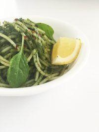 Ginger Coconut Green Spaghetti