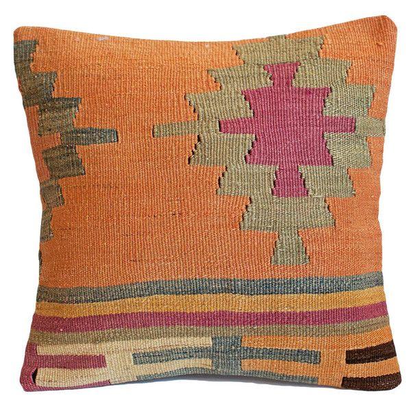 Orange Kilim Pillow