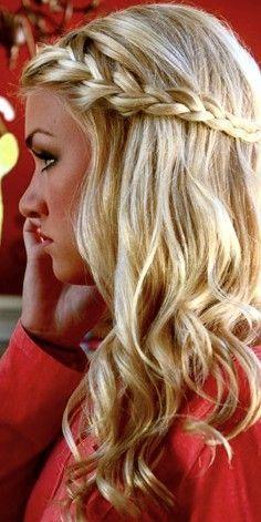 Super 1000 Images About Braids On Pinterest French Braids Waterfall Short Hairstyles Gunalazisus