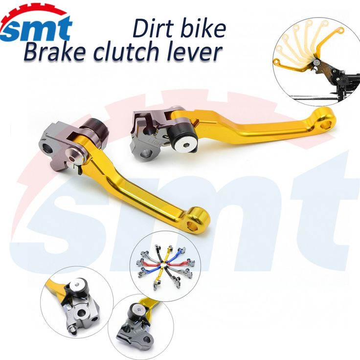 27.93$  Buy now - http://alig8b.shopchina.info/1/go.php?t=32545892599 - High Quality Motocross Parts CNC Pivot Brake Clutch Levers Golden For Yamaha TTR250 93 94 95 1996 1997 1998 1999 2000 2001 2002 27.93$ #magazine