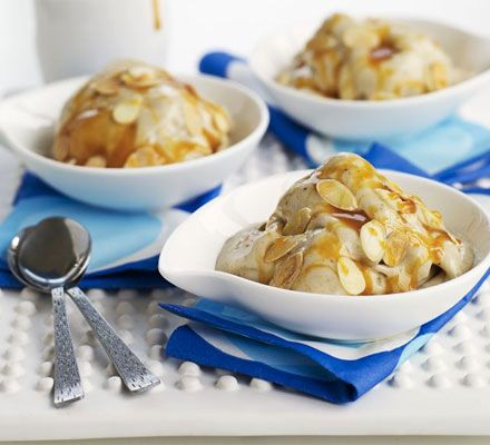 A no-churn ice cream that's low-fat, superhealthy and counts as one of your five-a-day