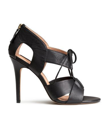 LEATHER SANDALS, £39.99 | H&M