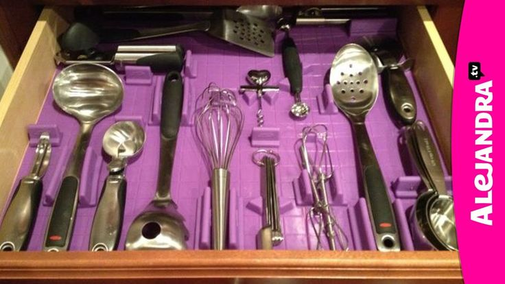 Organizing Kitchen Utensils: How to Organize Kitchen Drawers. OMG. WANT