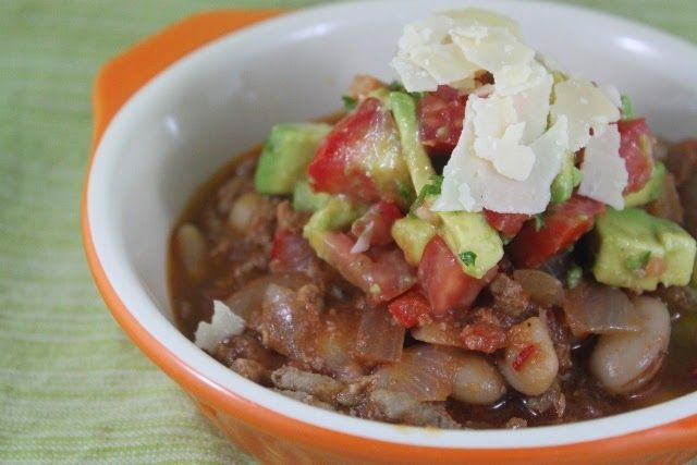 More than Words: One Pot Chili