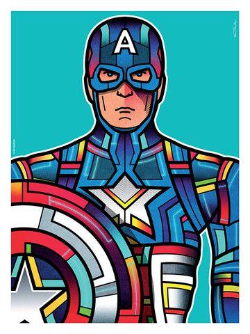 """Avengers Portraits: Captain America"