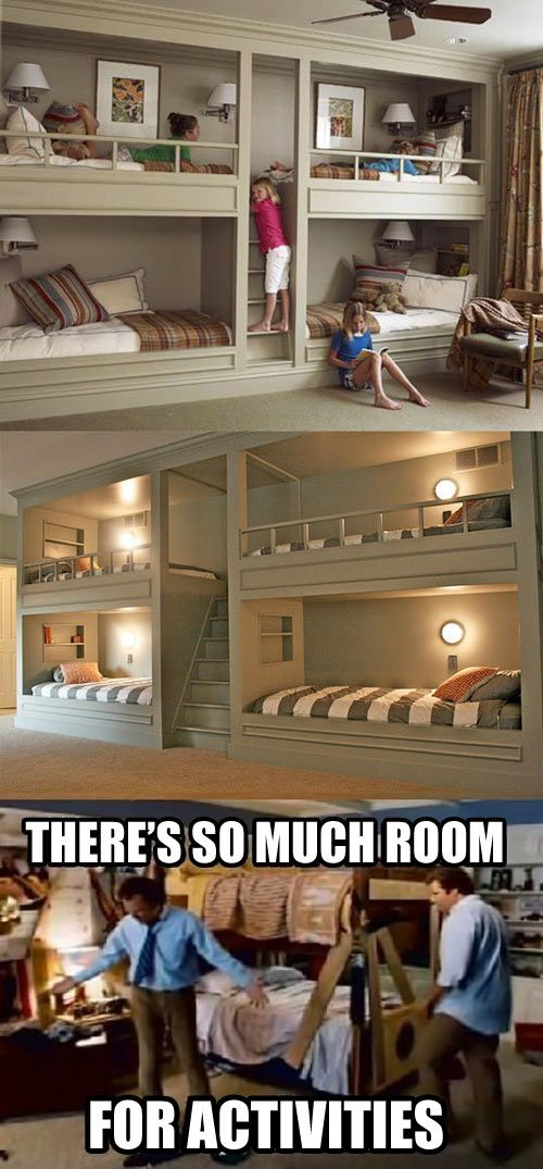 Totally get the joke but I actually really love the idea of using a little space and making that ... ❤