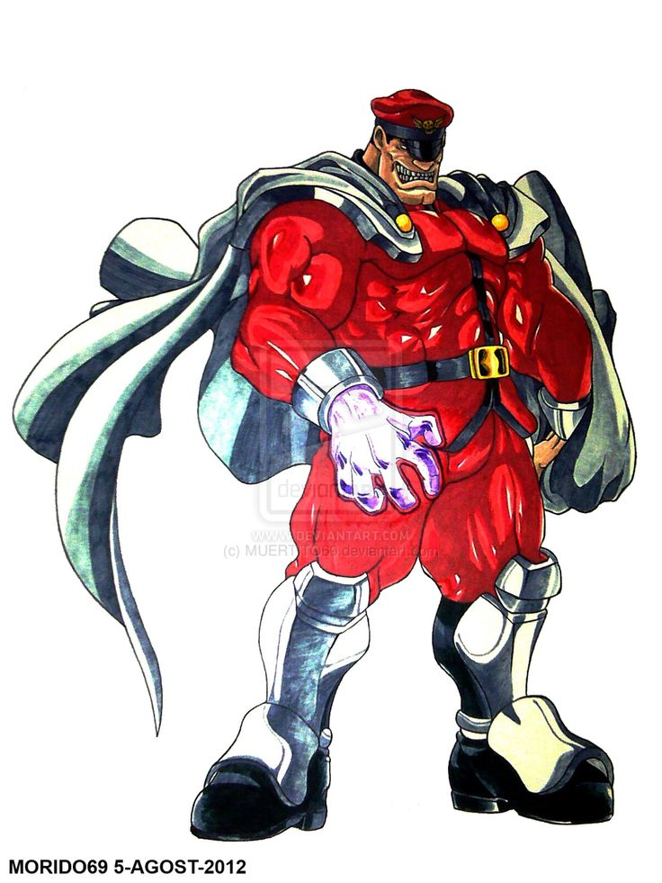 street fighter m bison - Google Search