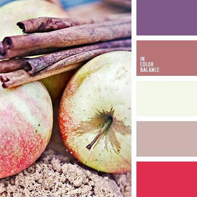 amarillo, amarillo y marrón, color canela, color de las manzanas, colores de la manzana amarilla, elección del color, marrón rosáceo, paleta de colores de otoño, paleta de colores para otoño, tonos marrones, violeta y marrón.
