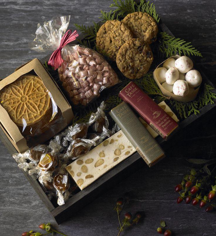 Winston Flowers' gourmet gift crates celebrate the joy of fresh baked goods.