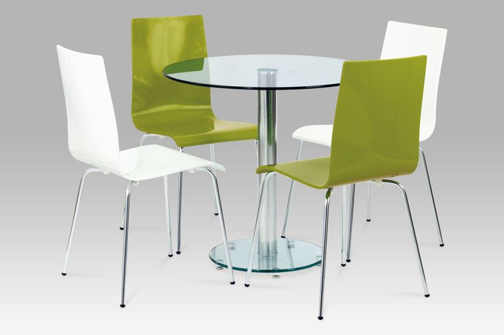 Jídelní židle zelná vysoký lesk XRE-028 SLEVA (6767245859) - Aukro - největší obchodní portál