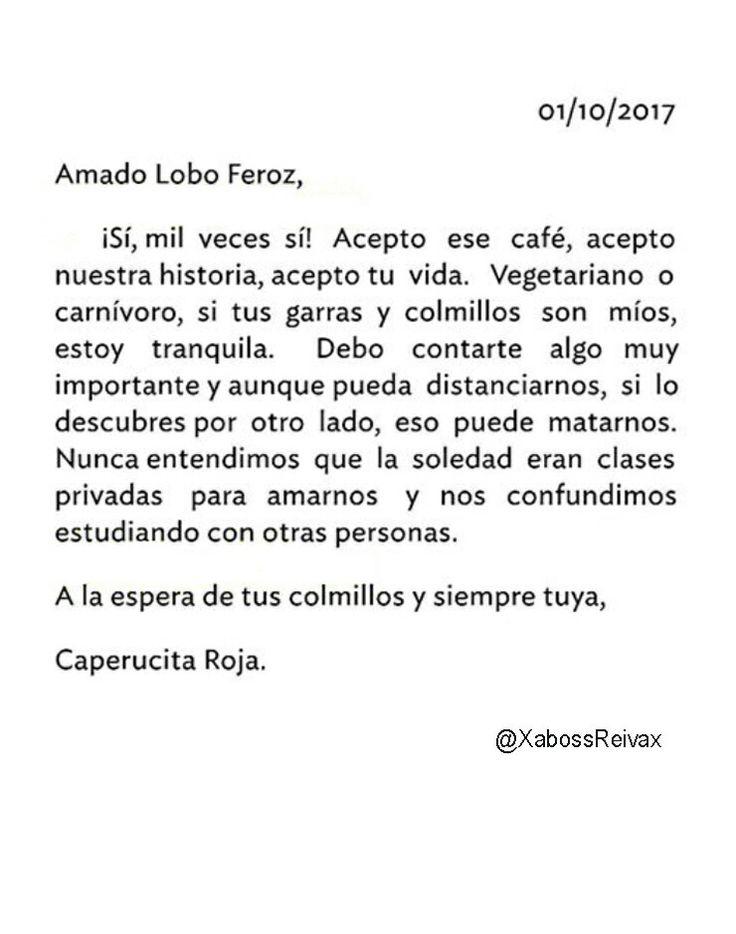 Carta#35   @XabossReivax   #ByXaboss