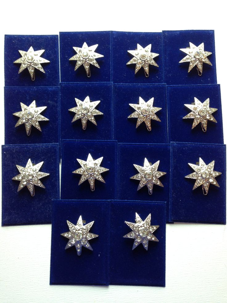 Empress Elisabeth of Austria (Sissi) replica hair stars. Also styled after the ones Christine wore in the Phantom of the Opera movie. From my collection.