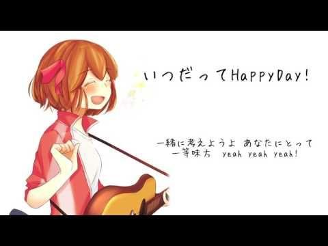 【Vocaloid】 Always HappyDay!【Hatsune Mikul】
