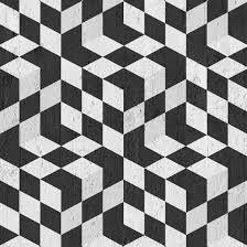 Black Optical Cubes Wallpaper