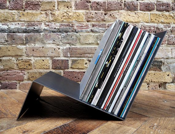 Vinyl Record Storage Metal Record Holder Storage For Vinyl