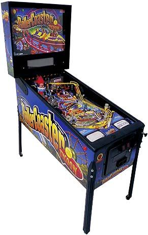 Pinball Machines, I still dream of having one at home. I love this game to bits and I`m good at it...LOL